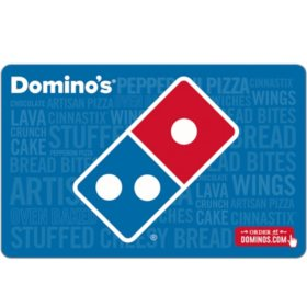 Domino's Pizza eGift Cards - Various Values (Email Delivery)