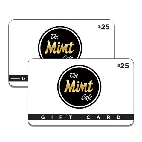 The Mint Cafe - 2/$25