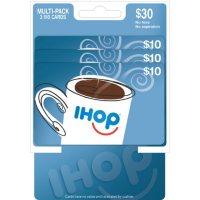 IHOP $30 Multi-Pack - 3/$10 Gift Cards