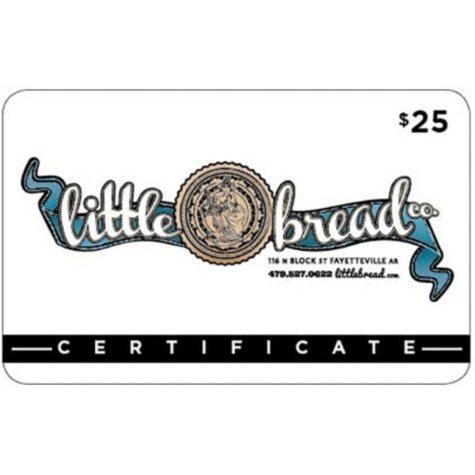 Little Bread Company Gift Card - 2 x $25