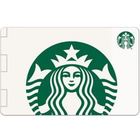 Starbucks Various eGift Amounts - (Email Delivery)