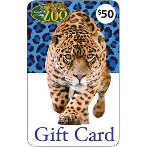 Elmwood Park Zoo $50 Gift Card - 1 x $50