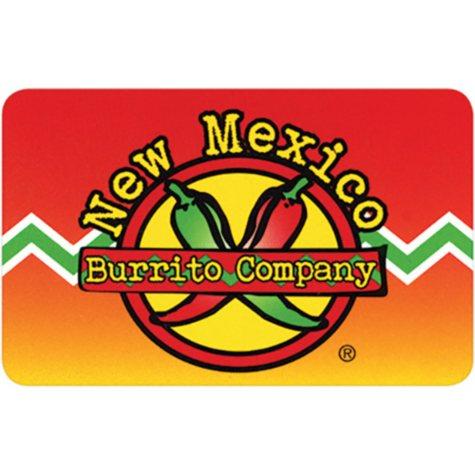 New Mexico Burrito Company Gift Card - 5/$10