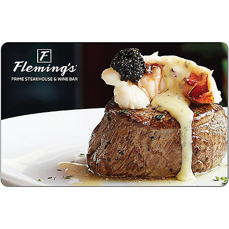 Fleming's $50 eGift Card - (Email Delivery)