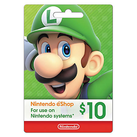 Nintendo eGift Card - Various Amounts (Email Delivery)