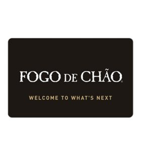 Fogo De Chao-Brazilian Steakhouse eGift Card - Various Amounts (Email delivery)