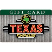 Texas Roadhouse eGift Card - Various Amounts (Email Delivery)