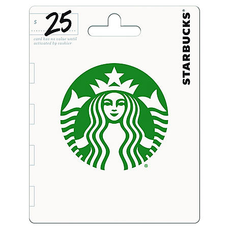 Starbucks Gift card - (Various Amounts)