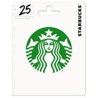 Starbucks Gift card - (Various Amounts)