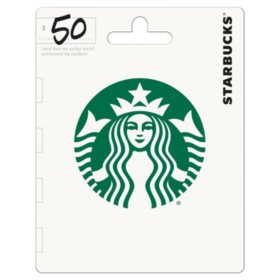 Starbucks Gift Card - $50 Value