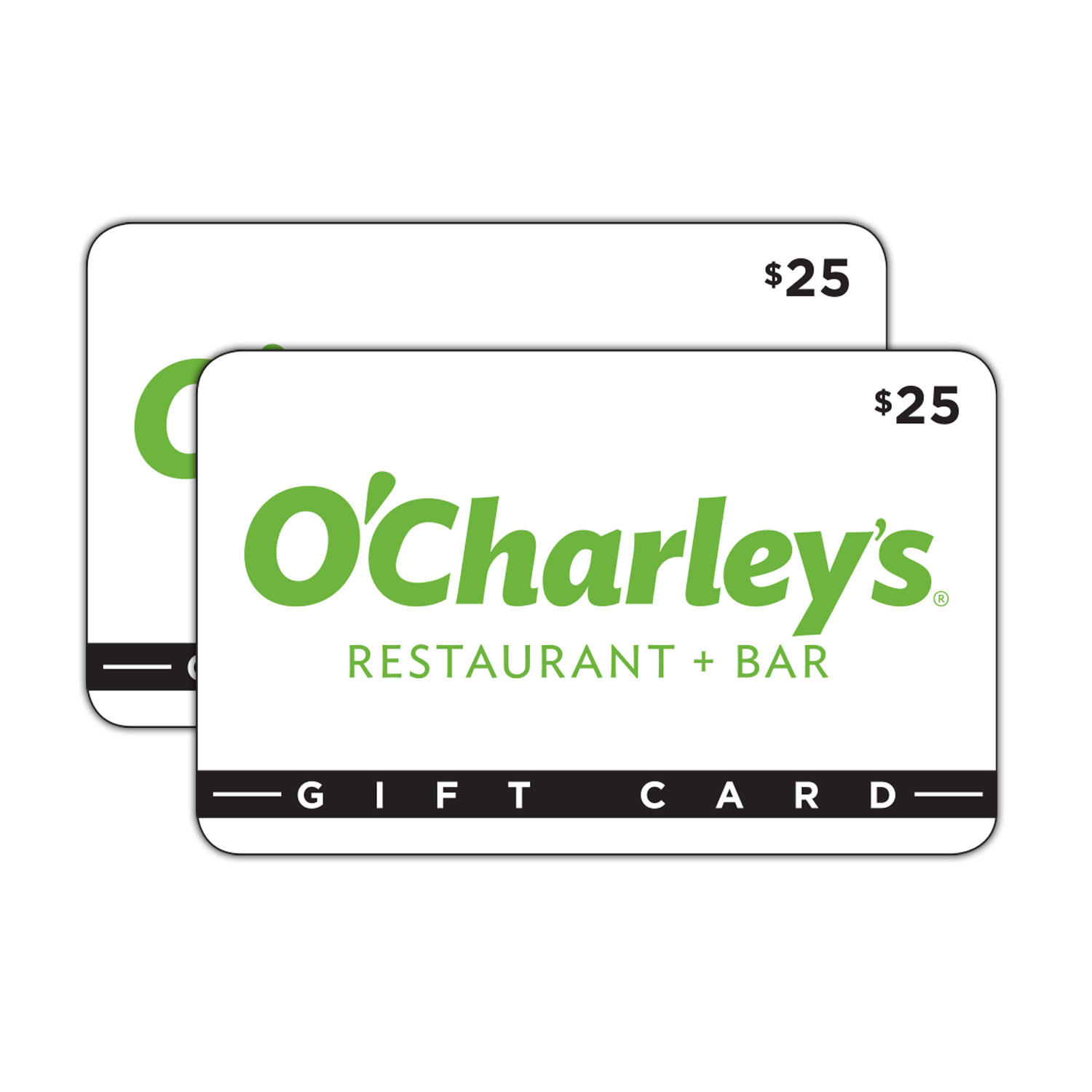 O'Charley's $50 Value Gift Cards (2 x $25)