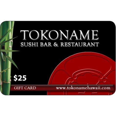 Tokoname Sushi Bar & Restaurant - 4 x $25