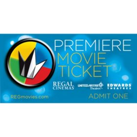 Regal 2 Tickets (CA, DC, Philadelphia, NYC Locations)