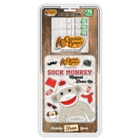Cracker Barrel $75 Multi-Pack with Magnetic Sock Monkey Game - 3/$25