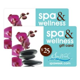Spa Week $50 Gift Cards - 2 /$25