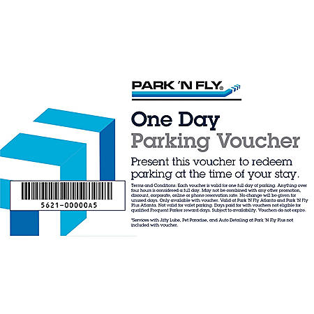 Park 'N Fly Atlanta $60 Value - 5 Days of Airport Parking