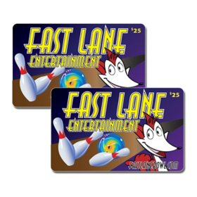 Fastlane Entertainment - 2 x $25