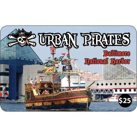 Urban Pirates $100MP Gift Card - 4 X $25