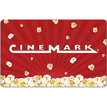 Cinemark eGift Card - Various Values (Email Delivery)