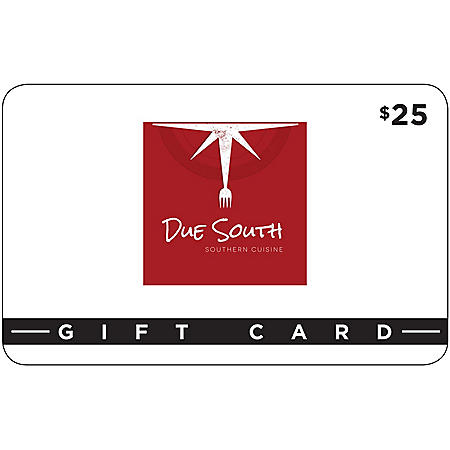 Due South Southern Cuisine 2 x $25 for $40