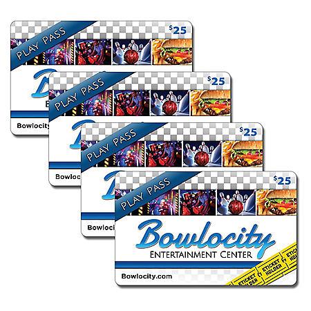 Bowlocity - 4 x $25 for $80