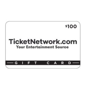 TicketNetwork $100 Value Gift Certificate
