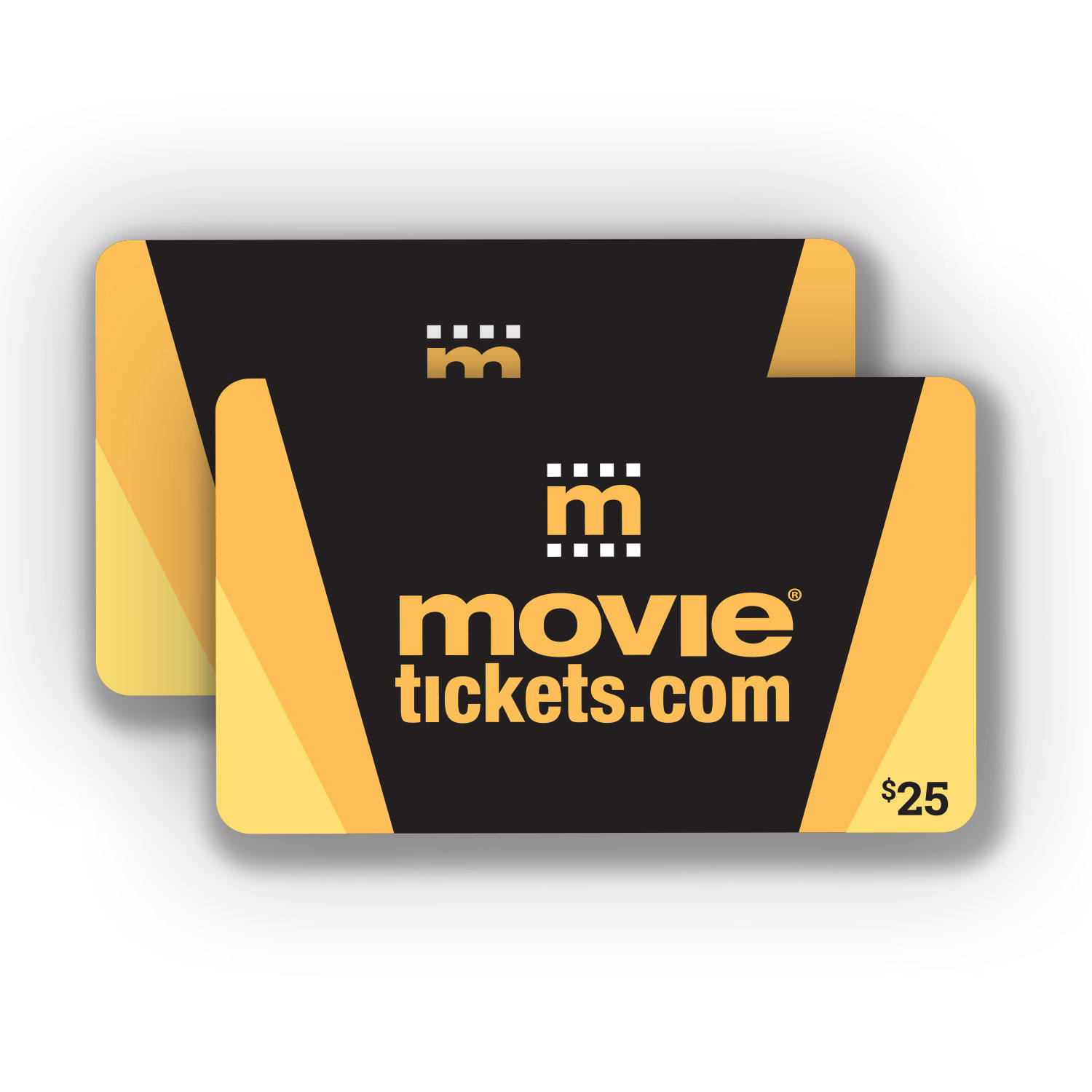 $25 (2 x $25) Movietickets.com Gift Cards