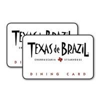 $100 Texas De Brazil Gift Cards