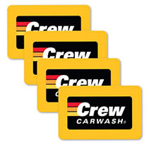 CREW CARWASH $100 MP 4 X $25