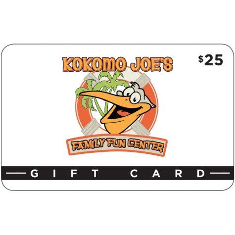 Kokomo Joe's Family Fun Center - 2 x $25 for $35