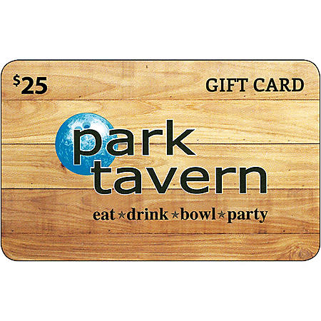 Park Tavern $50 Value Gift Cards - 2 x $25