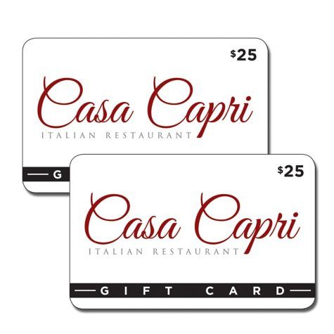 Casa Capri Italian Restaurant 2 x $25 for $40
