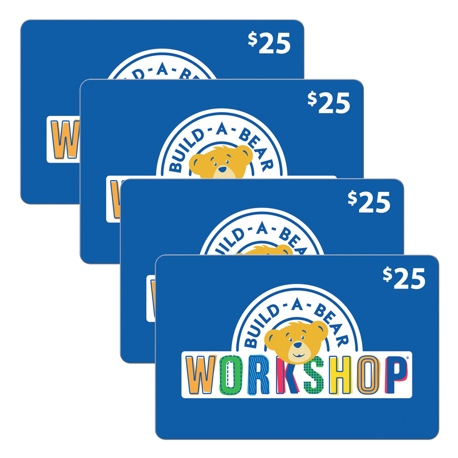 $100 Build-A-Bear Workshop Gift Card