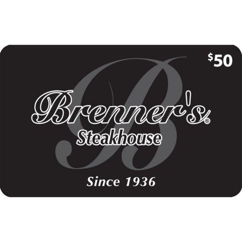 Brenner's Steakhouse (Landry's) -  2 X $50 plus $20 bonus