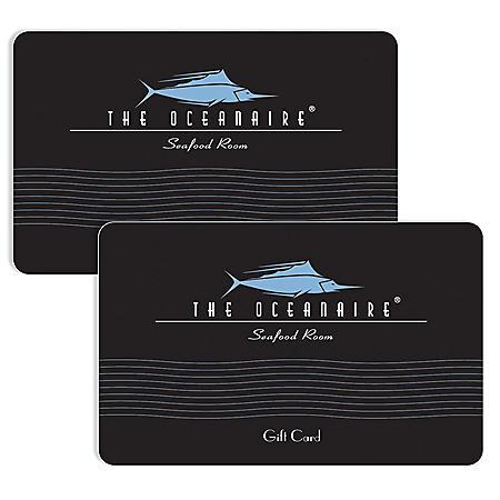 Oceanaire Landry's $120 Value Gift Cards - 2 x $50 Plus $20 Bonus