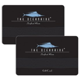 Oceanaire Landry's $120 Value Gift Cards - 2 x $50 Plus $20 Bonus