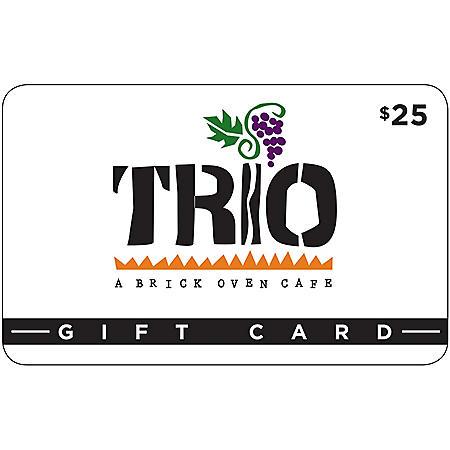 Trio Brick Oven Café 2 x $25 for $40