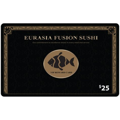 EurAsia Fusion Sushi - 2 x $25 for $40