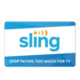 $100 Sling TV Gift Card