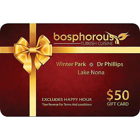 Bosphorous Turkish Cuisine - 2 x $50 for $80