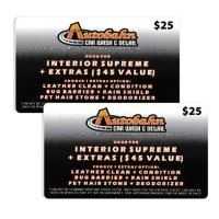 Autobahn Indoor Speedway $50 Value Gift Cards - 2/$25