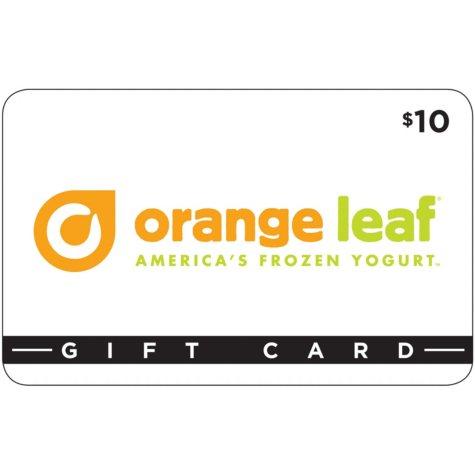 Orange Leaf Frozen Yogurt - 3 x $10 (Houma, LA)