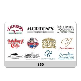 Landry's $50 eGift Card (Email Delivery)