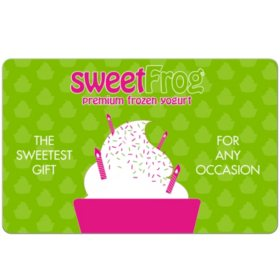 Sweet Frog $20 eGift Card (Email Delivery)