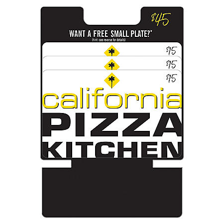 California Pizza Kitchen Gfit Cards - 3 x $15