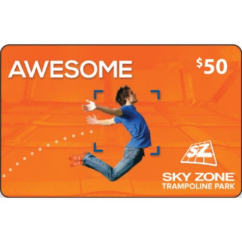 Sky Zone Gift Card - $50  (Ft. Lauderdale, FL Location)