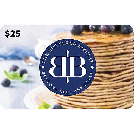 The Buttered Biscuit Gift Card - 2 x $25