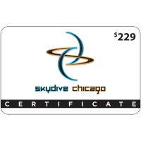 $229 Skydive Chicago Gift Card