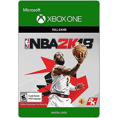 NBA 2K18 Full Game  (Xbox One) - Digital Code