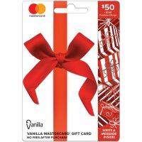 $50 Vanilla Mastercard Gift Card